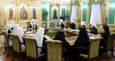 Заявление Священного Синода Русской Православной Церкви в связи с последними событиями