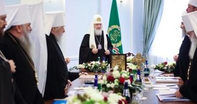 Заявление Священого Синода в связи с последними событиями