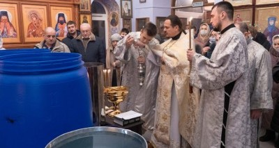 В ночь на Крещение