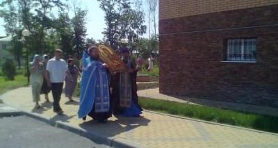Нас посетила икона Богородицы